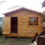 Садовый домик из сухого минибруса